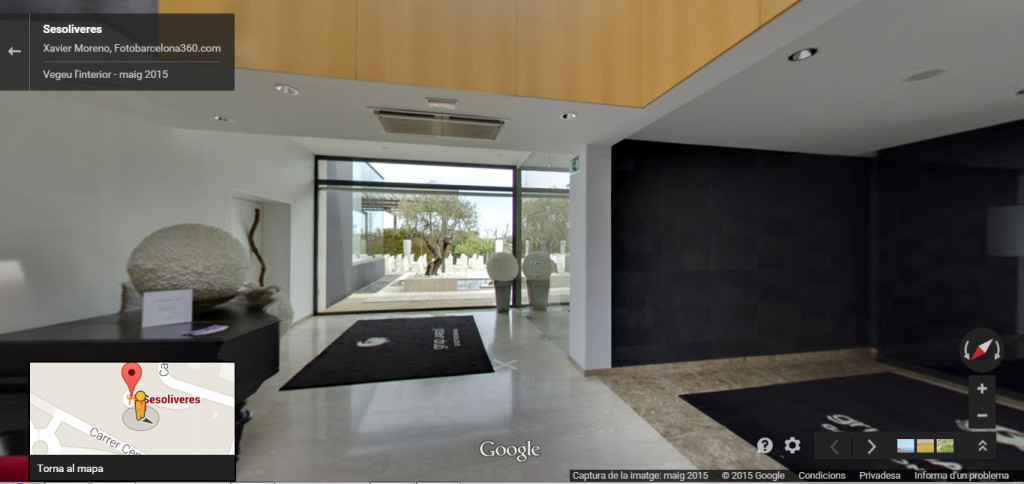 Sesoliveres a Google street view